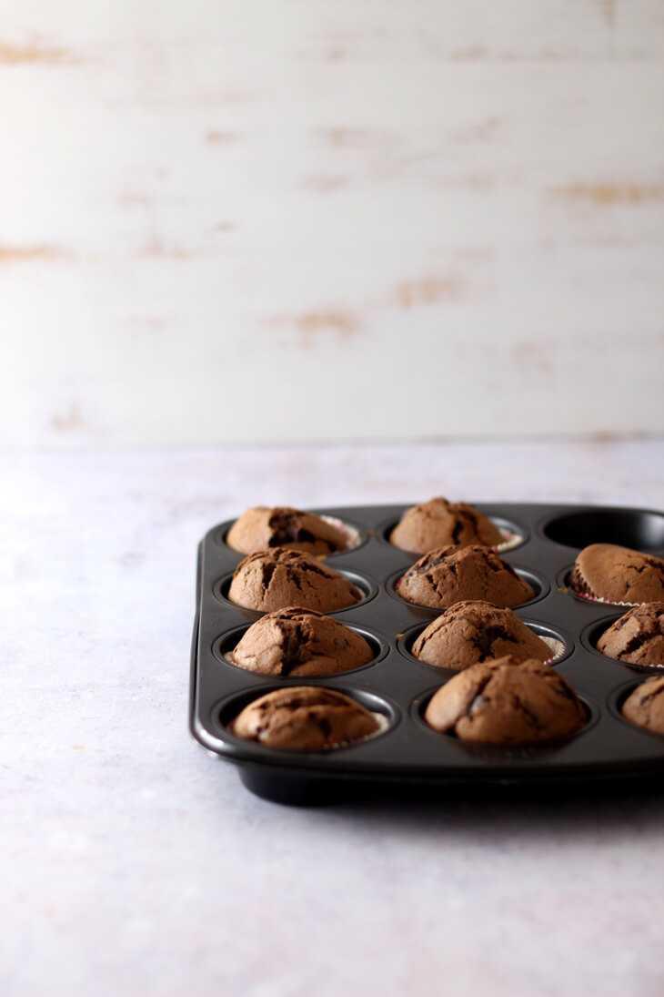 Schoko Muffins Grundrezept | bäckerina.de