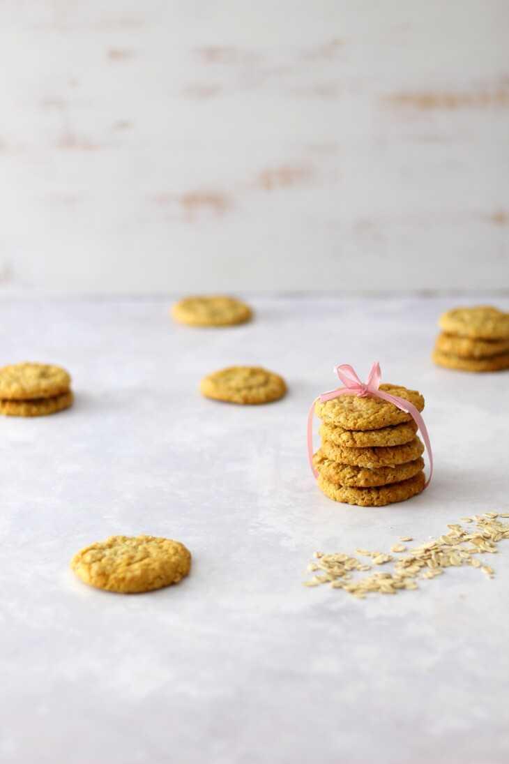 Kokos Haferkekse Rezept | bäckerina.de