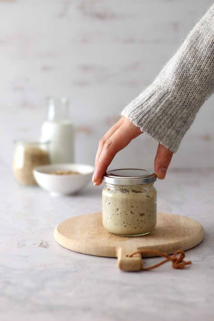 Sauerteig selbst ansetzen | bäckerina.de
