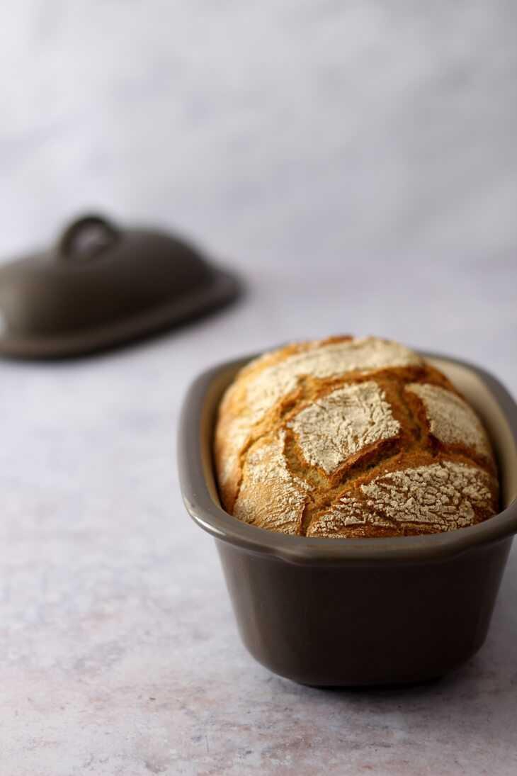 Schnelles Bauernbrot Pampered Chef Rezept | bäckerina.de