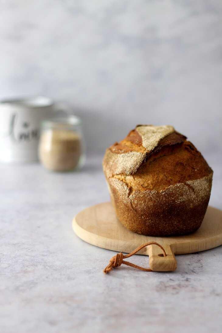Dinkelkruste Pampered Chef Rezept   bäckerina.de