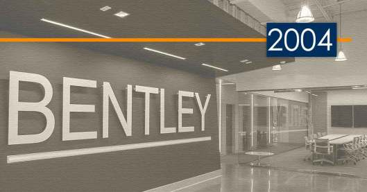 Bentley History and Development: 2004 – Innovative Solutions