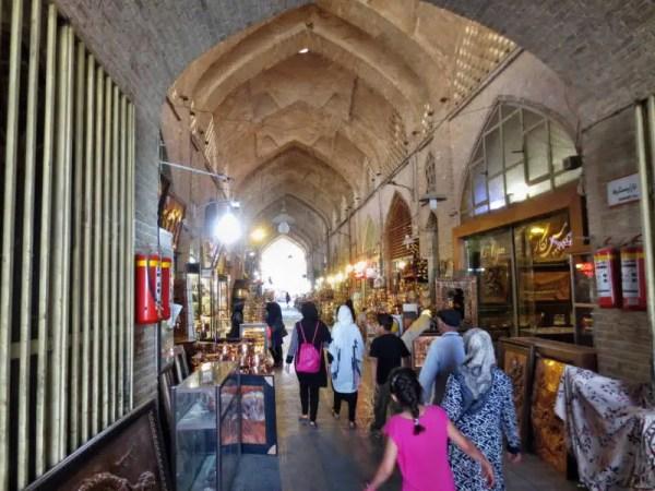 Ein Markt in Isfahan