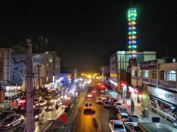 Teheran am Abend