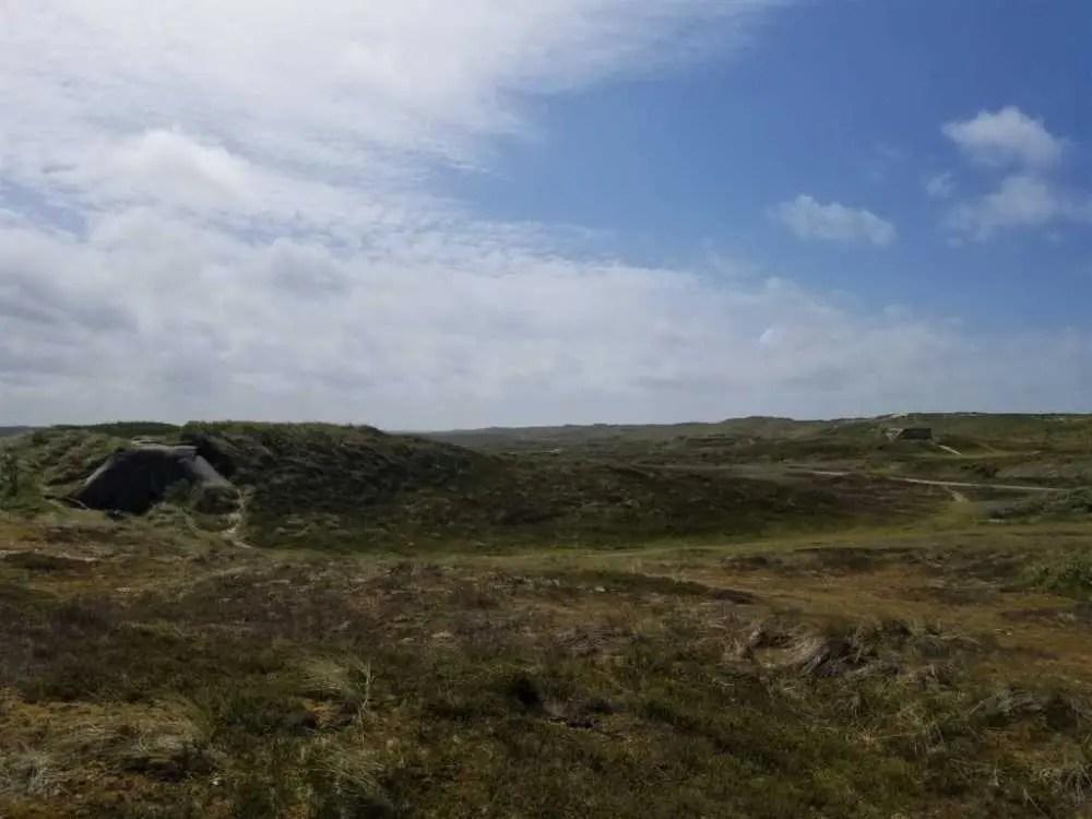 Bunker- und Dünnen-Landschaft bei Nymindegab in Dänemark.