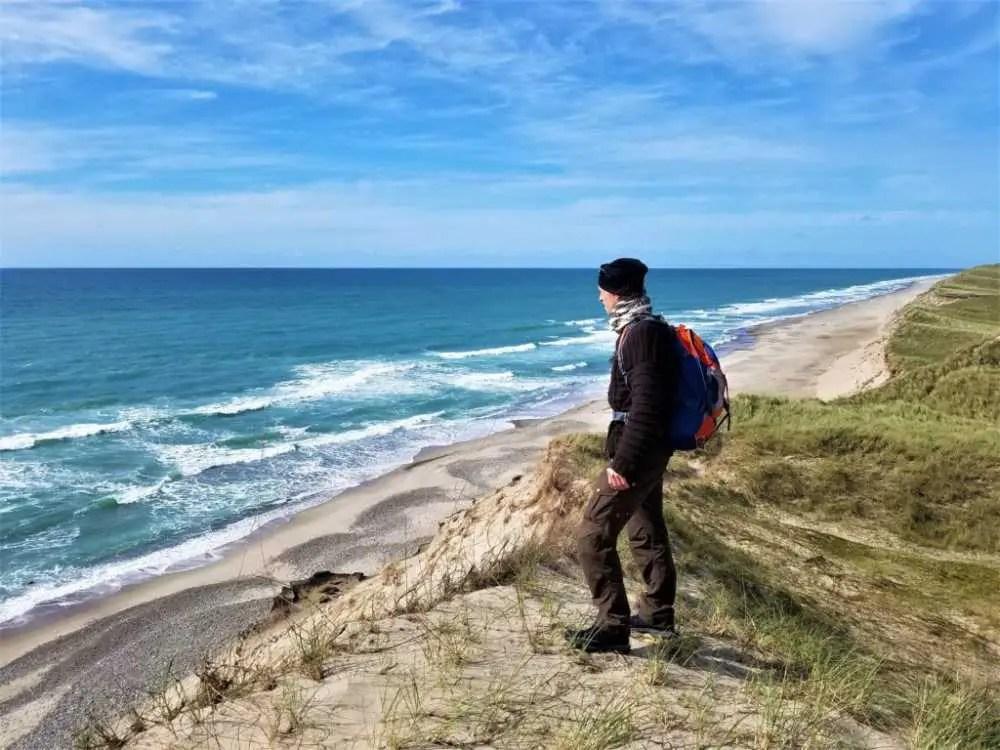 An der Küste des Nationalparks Thy an der Westküste von Dänemark