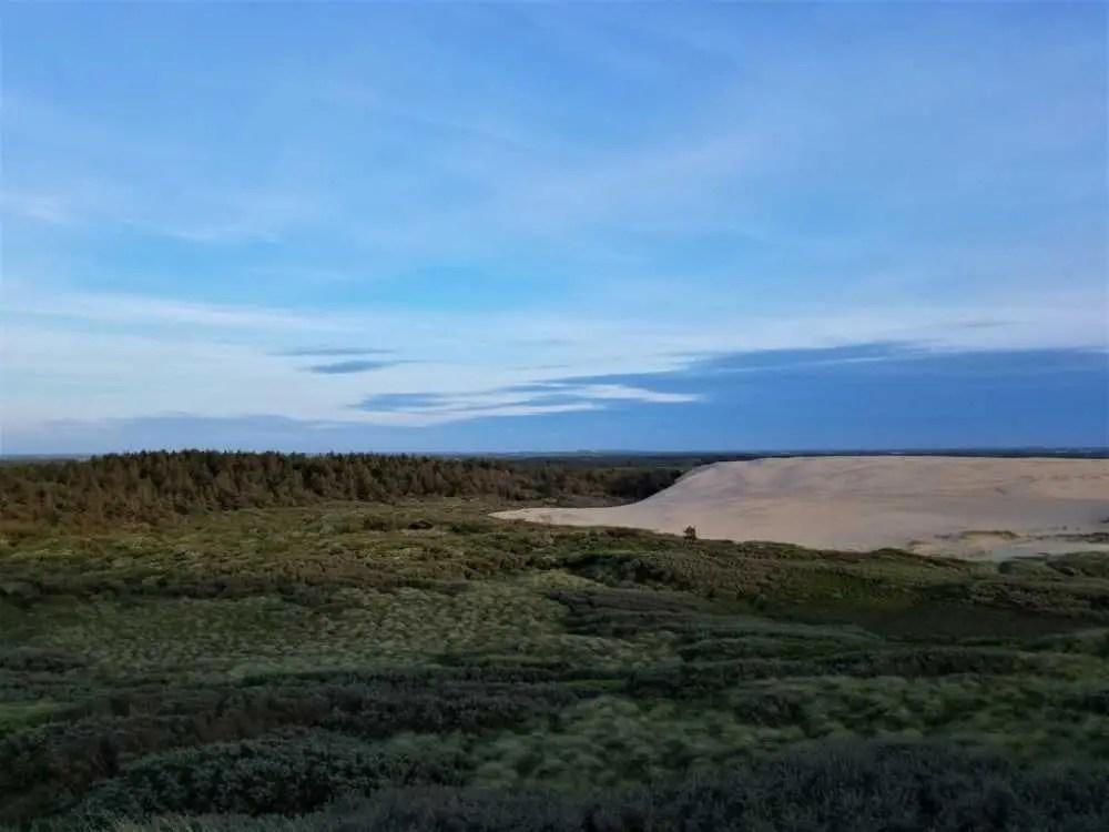 Rubjerg Knude, eine der größten Wanderdüne Europas an der Westküste von Dänemark