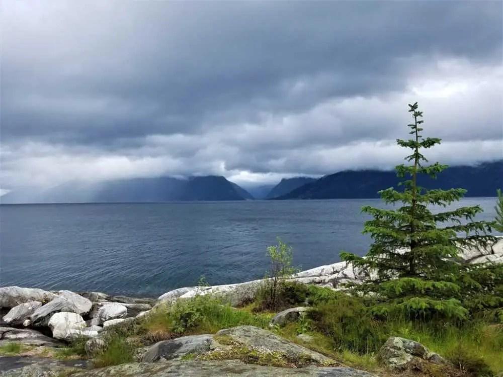 Am Sognefjord in Norwegen
