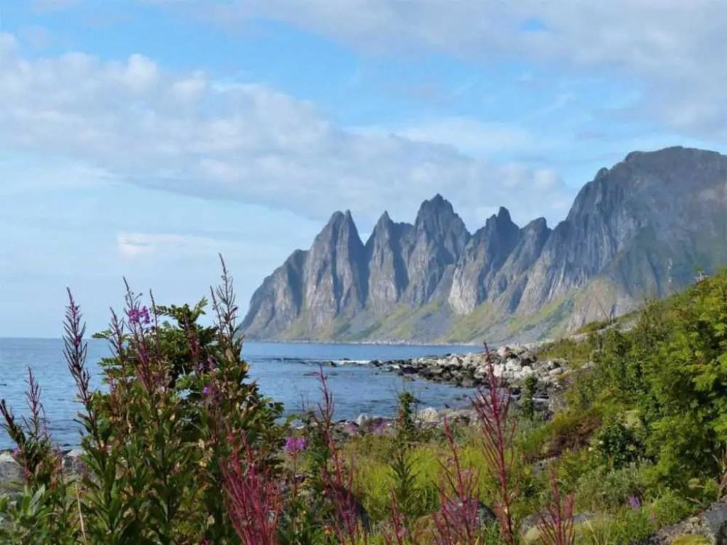 Die Insel Senja.