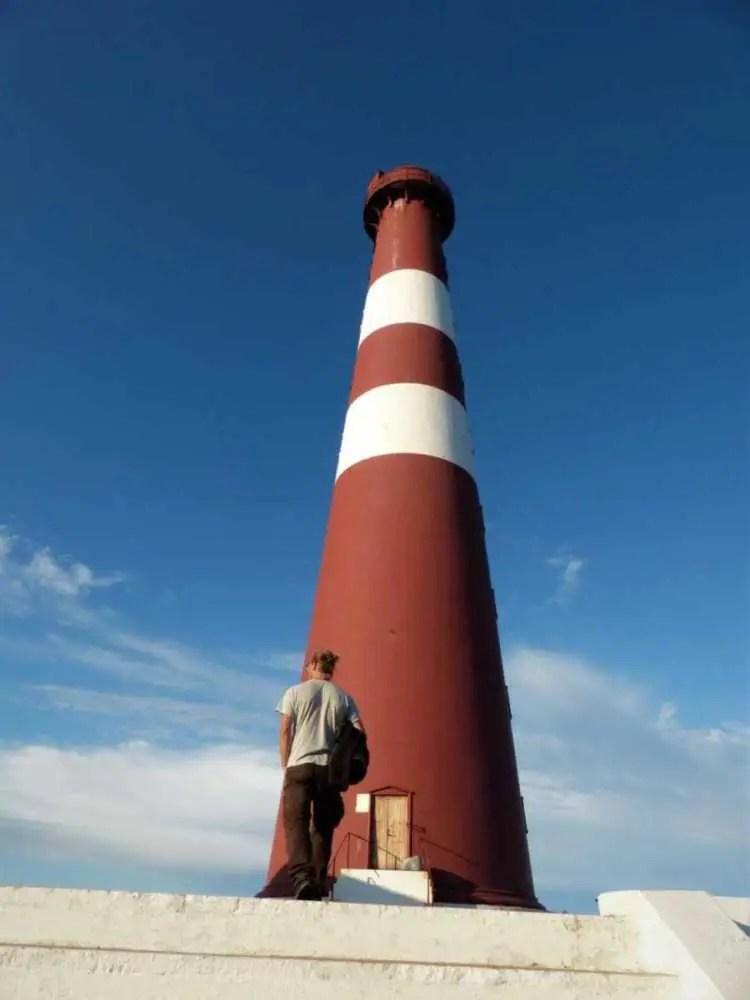 Leuchtturm am Ende der Welt am Nordkinn