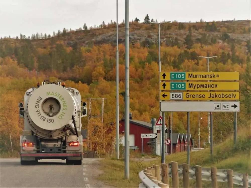 Russiche Grenze Norwegen