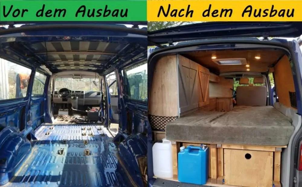 Ein einen Transporter selber zum Camper ausbauen!