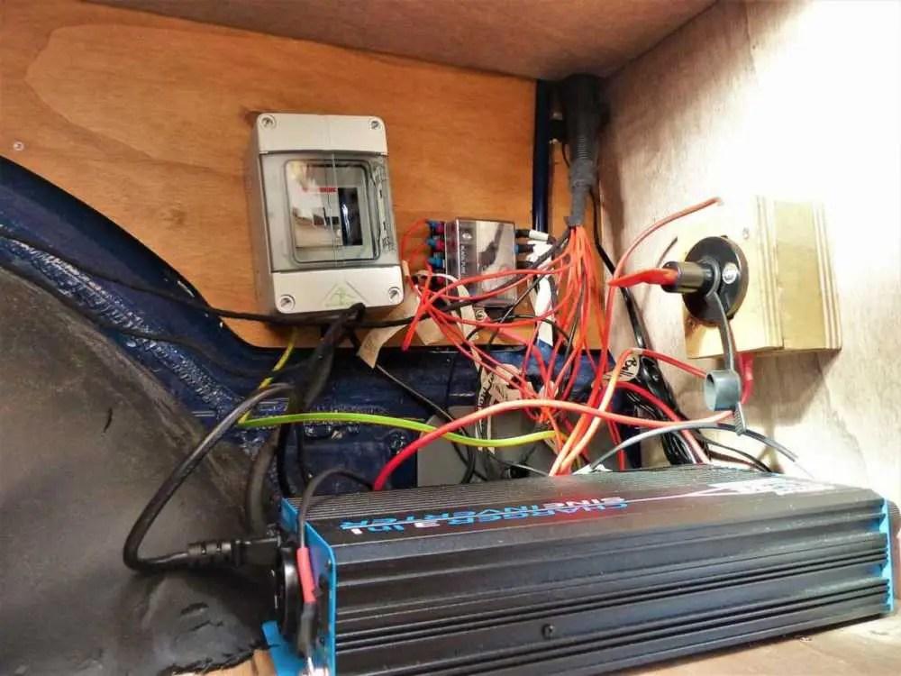 12V Elektrik in den Camper selber einbauen.
