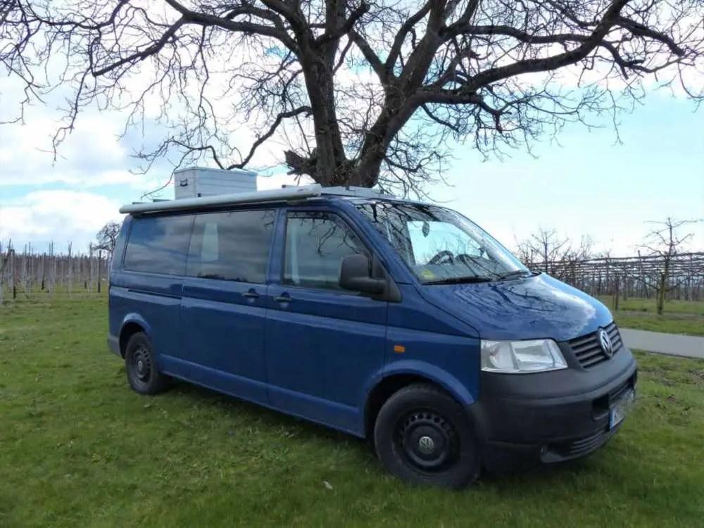 Camper Markise F35 Pro für den Van und Camper VW Bus