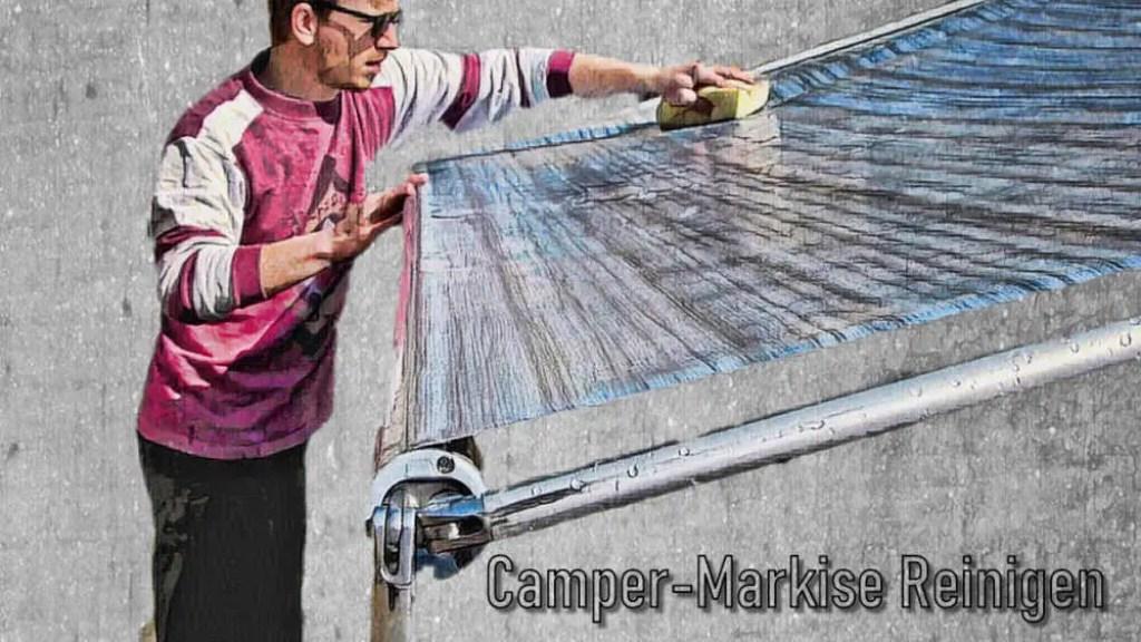 Camper-Markise-selber Reinigen