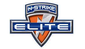 Logo der N-Strike Elite Nerfblaster Serie von Nerf