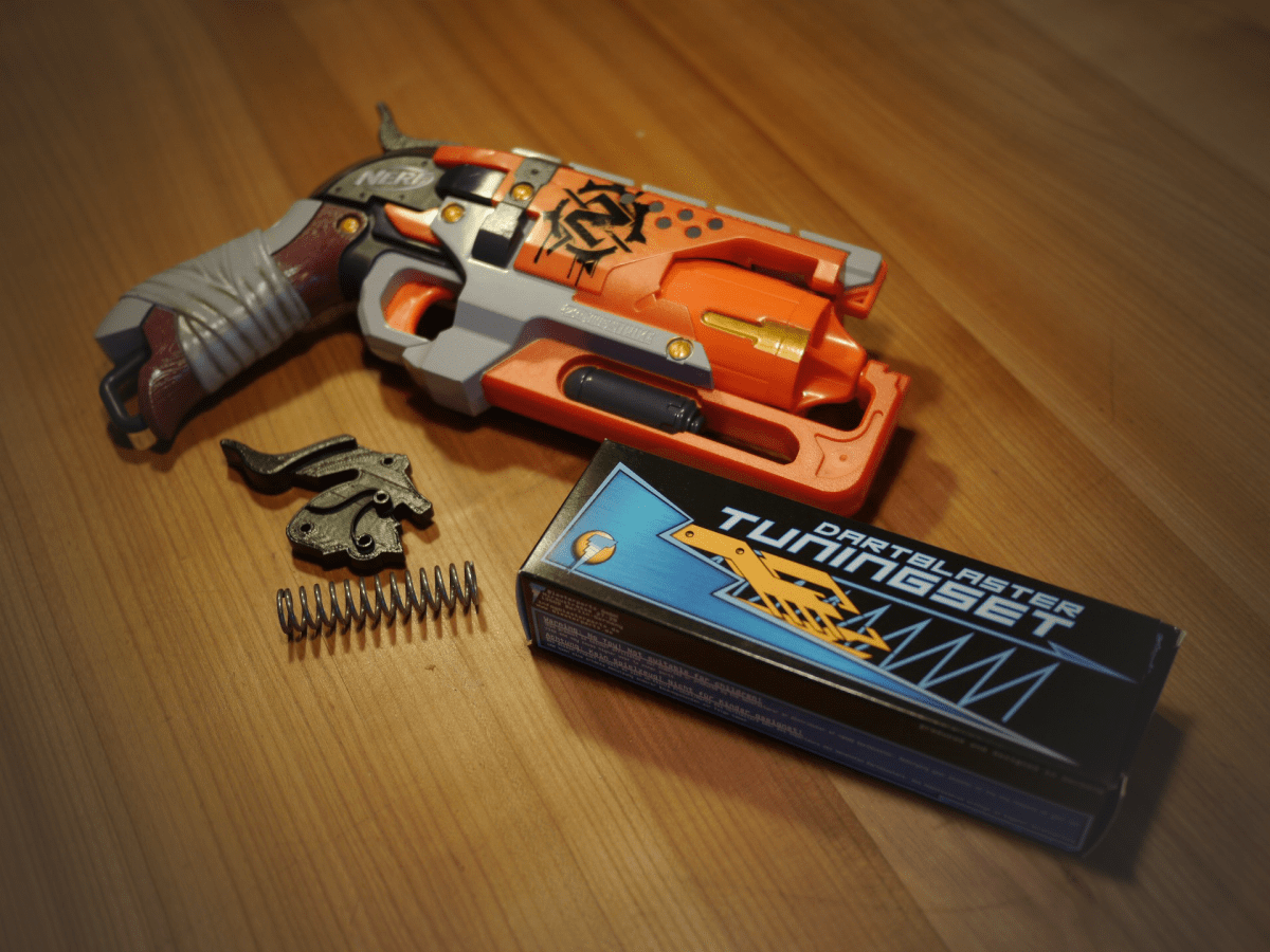 Review: Blasterparts Tuning-Set Nerf Hammershot