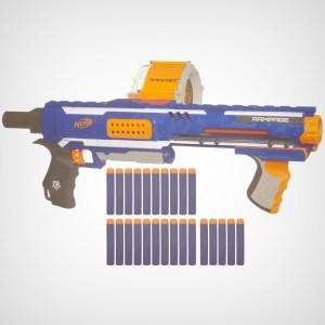 Nerf Blaster Rampage - Retaliator vs Alpha Tropper