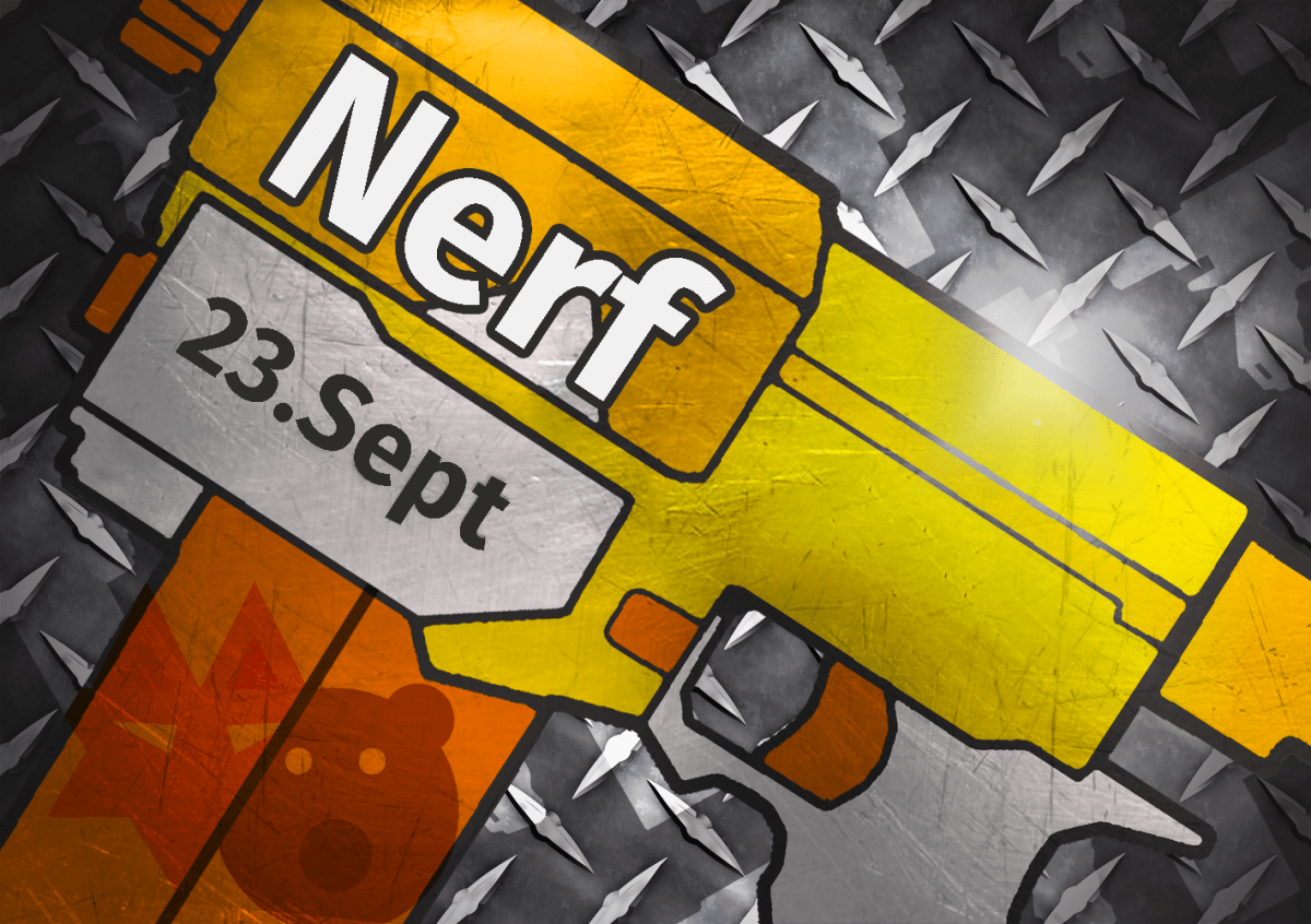Nerfevent am 23. September 2017