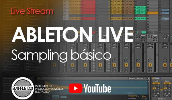 Live Stream - Ableton Live Sampling Básico