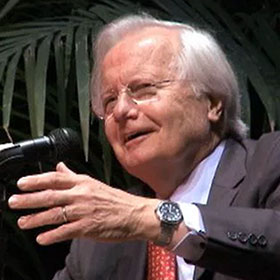 Bill Moyers, one of America's leading and most respected journalists, making a presentation