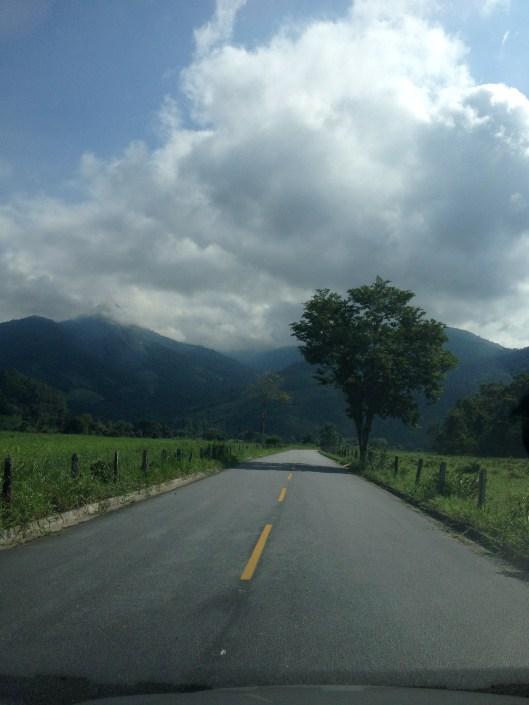 Na estradinha pra chegar na pousada você já vai se deslumbrando com a paisagem