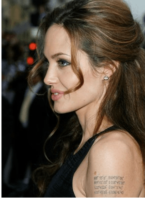Tattoo Angelina foto ig