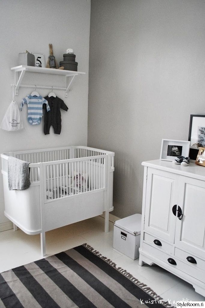 quarto de bebê vintage