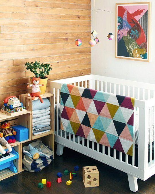 quarto de bebe geometrico