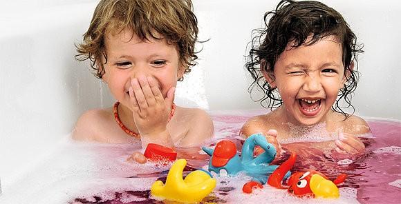 pastilhas coloridas de banho