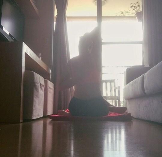ioga em casa