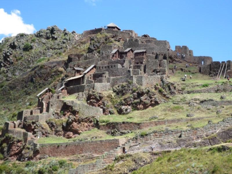 Ruínas do Parque Arqueológico de Pisac
