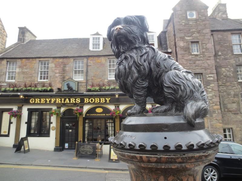 O leal cãozinho Bobby (Edimburgo, Escócia)