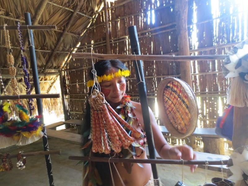 Comunidade indigena - Manaus