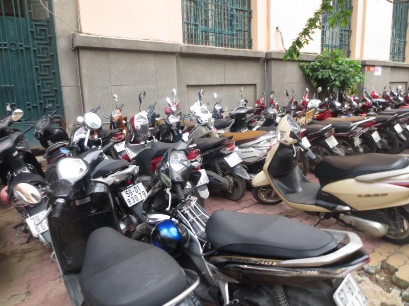 Vietnã: motos em todo lugar