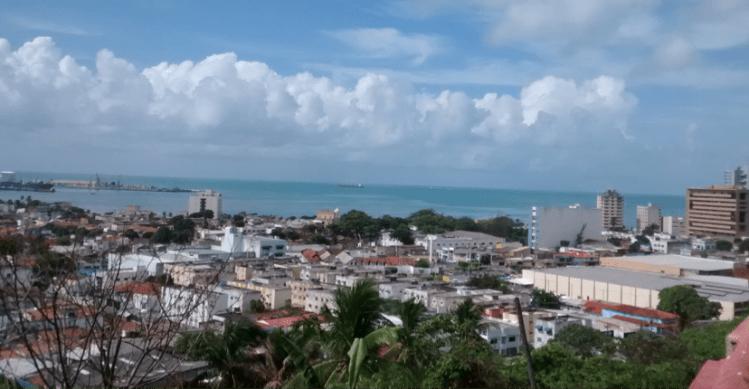 vista do Mirante de Sao Goncalo - maceio AL