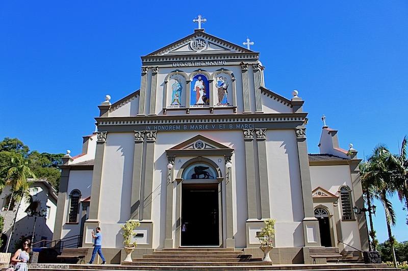 O que fazer em Nova Veneza: Igreja Matriz São Marcos