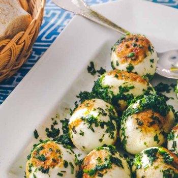 Grønne æg opskrift fra Bageglad