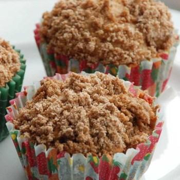Æble kanel muffins fra Bageglad