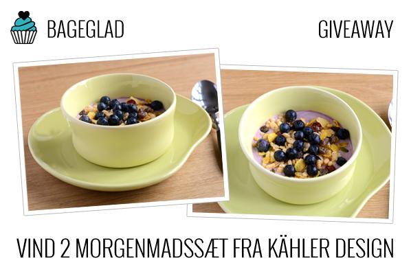 Kähler Mano skål og tallerken
