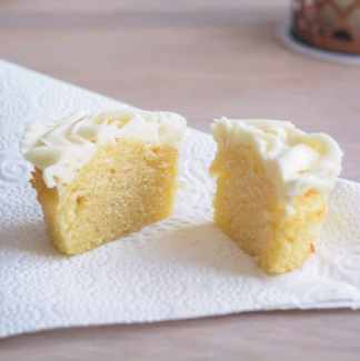 Citron cupcake