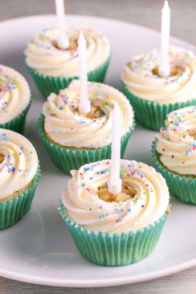 Cupcakes til fødselsdag
