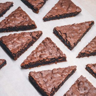 Brownies trekanter
