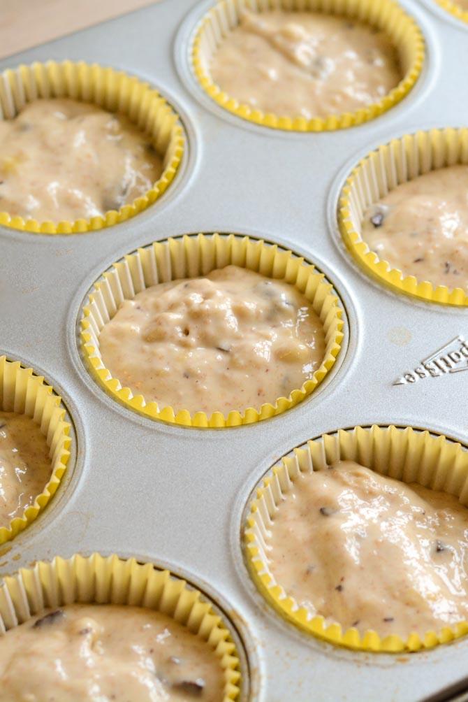 Bananmuffins opskrift