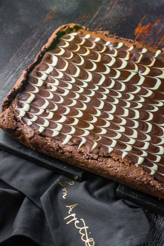 Brownies med chokolade