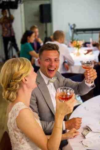 Brudepar fest