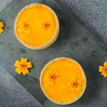 Tærter med passionsfrugt fra Bageglad