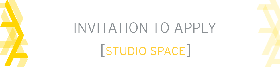 Call for Applications: Tier 2 Studio Space