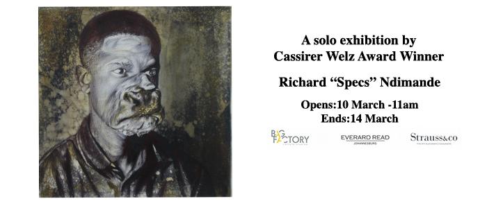 """Richard """"Specs"""" Ndimande: Solo Exhibition"""