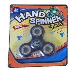 Hand spinner finger spinner ny i förpackning - Svart